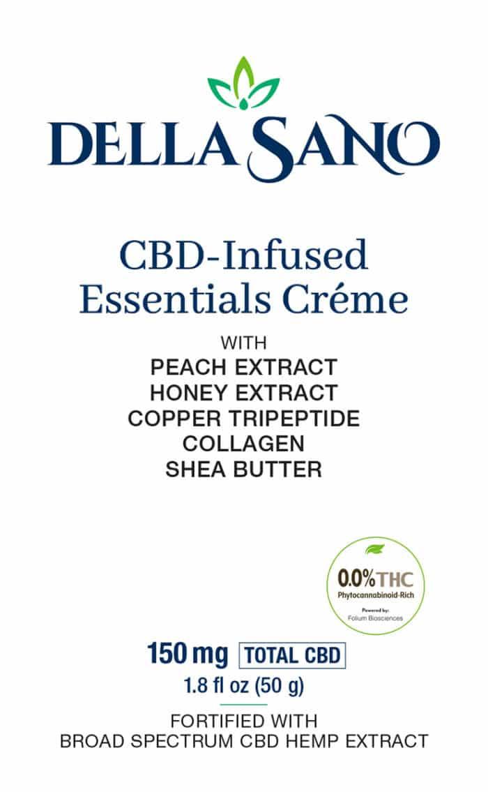 CBD-Infused Essentials Creme with Peach, Honey